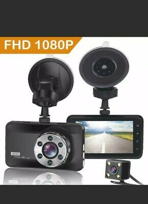 AU74.65 • Buy ORSKEY Dash Cam Front And Rear 1080P Full HD Dual Dash Camera In Car Camera For