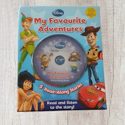 £16.95 • Buy Disney My Favourite Adventures Read Along Stories CD Books Toy Story 1-3 Up Cars