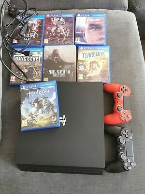 AU289.62 • Buy PS4 Pro With 7 Games And 2 Controllers