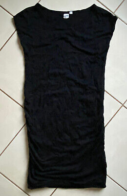 £2 • Buy Gap Maternity Tshirt Dress Size Small Black. Great Quality Material!