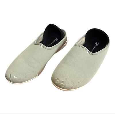 $38 • Buy Mahabis Women's Size 39 US 8 Pale Green Outdoor Sole Convertible Slippers EUC