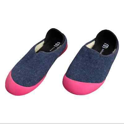 $38 • Buy Mahabis Women's Size US 8 Curve Classic Wool Lined Slippers Malmo Blue Pink EUC
