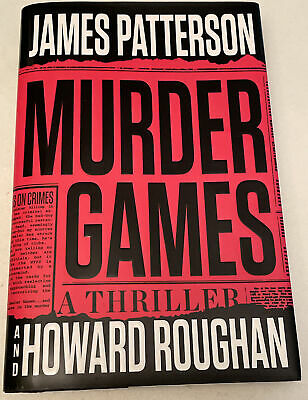 AU8.14 • Buy  Murder Games  Hardcover Book By James Patterson