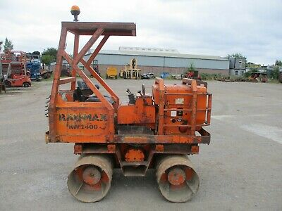 £3750 • Buy Rammax RW2400 Trench Roller Vibrating Terex Bomag Benford Ride On Sheeps Foot