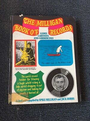 £2.99 • Buy The Milligan Book Of Records By Spike Milligan Games Cartoons And Commercials