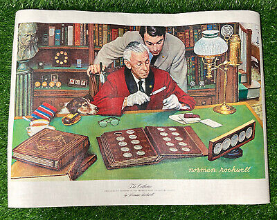 $ CDN49.92 • Buy  The Collector  Norman Rockwell Limited Edition Franklin Mint Canvas Print 1973