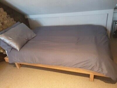 £60 • Buy Excellent Condition, Japanese Style, Low Double Wooden L Loft Bed