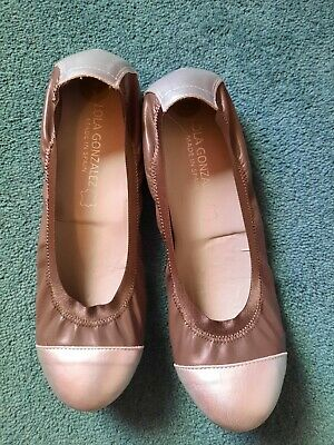 £3 • Buy Bronze & Brown Flat Shoes, Size 6 (39)