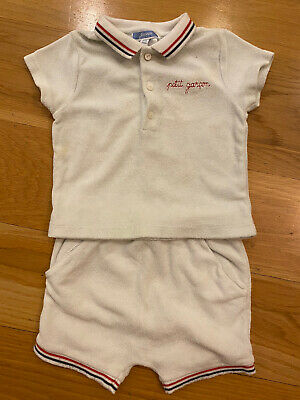 £2.50 • Buy Jacadi Baby Boy 12 Months / 1A  Cute Summer Outfit / Set.