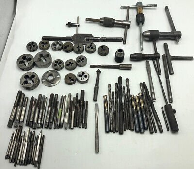 $31 • Buy Lot Vintage Machinist Tool Tools Lathe Mill Drill Bits Misc