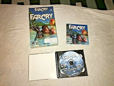 AU13.32 • Buy Far Cry FARCRY PC 5 CD-ROM Game With Box 2004 Ubisoft. CLEAN.
