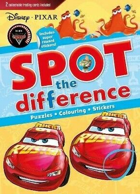 £7.80 • Buy Disney Pixar Spot The Difference: Includes Super Reward Stickers!  New Book Parr
