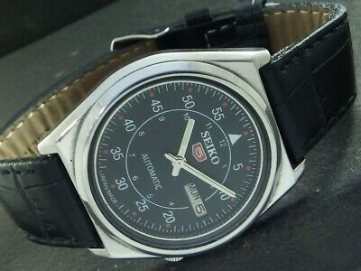 $ CDN1.25 • Buy OLD VINTAGE SEIKO 5 AUTOMATIC JAPAN MENS DAY/DATE WATCH 446d-a224423-4
