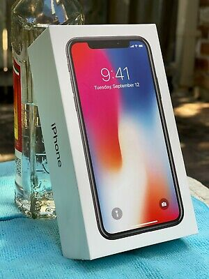 AU456 • Buy Apple IPhone X - 256GB - Space Grey (Unlocked) A1865  MINT CONDITION!!!!