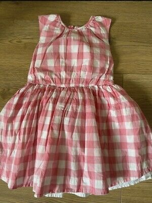 £3 • Buy Marks And Spencer Girls Checked Dress Age 5-6