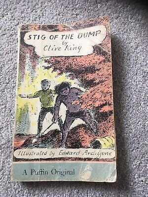 £3.20 • Buy Stig Of The Dump Vintage Classic Penguin Book A Puffin Original By Clive King