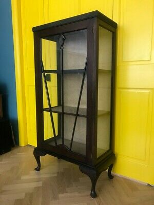 £100 • Buy Vintage Glass Display Cabinet / Ideal Upcycle Project