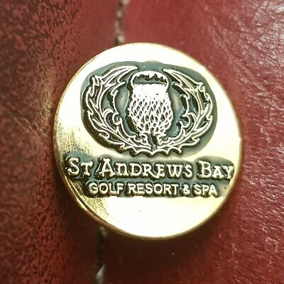 £2.90 • Buy St Andrew's Bay Golf Resort And Spa Ball Marker