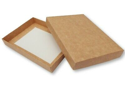 £12.99 • Buy 10 Kraft Brown A4 Boxes Gifts Greeting Cards Lingerie