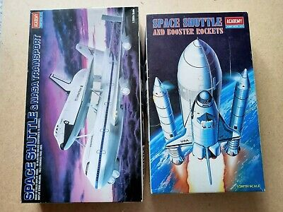 £18.95 • Buy Academy 1/288 No.1630 Space Shuttle & Boosters + No.1640 Shuttle & 757 Transport