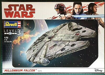 $162.61 • Buy Star Wars : Millennium Falcon 1/72 Scale Model Kit By Revell