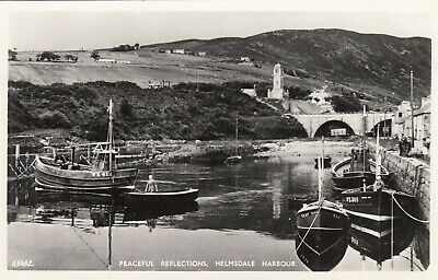 £2.75 • Buy Postcard - Helmsdale Harbour - Peaceful Reflections