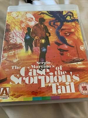 £5 • Buy Sergio Martino The Case Of The Scorpions Tail Bluray Arrow As New.