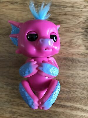 AU13.20 • Buy Wowwee Fingerlings Interactive Glitter Baby Dragon Sandy 40+sounds No 3583