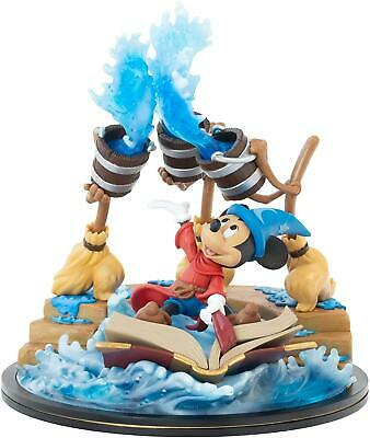 $ CDN62.93 • Buy Disney Fantasia Sorcerer Mickey Mouse Q-Fig Max Magical Iconic Statue