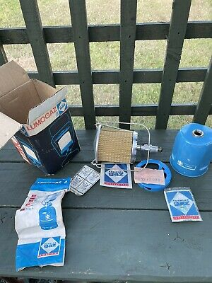 £20 • Buy Vintage Camping Gas Light, Lumogaz R Never Used Mint In Box .