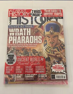 £5.99 • Buy All About History Magazine-Issue 106-Wrath Of The Pharaohs+ Ancient World-New