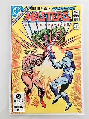 """$4.45 • Buy Masters Of The Universe #3 """"DC 3 Part"""" Key Issue"""
