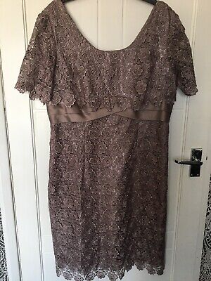 £7.55 • Buy Kalico Lace Overlay Special Occasion/formal Dress Size 16 (worn Once) Wedding,