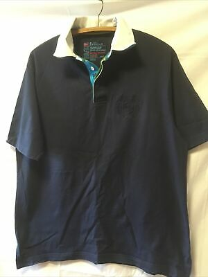 """£3.50 • Buy Mens Blue Harbour Polo Shirt M L AP/AP 22"""" By Marks And Spencer M&S"""