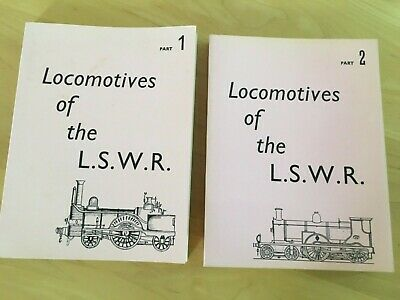 £12 • Buy Locomotives Of The LSWR Volumes 1 And 2 - D. L. Bradley