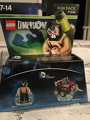 £1.30 • Buy Lego Dimensions 71240: DC Comics Bane And Drill Driver Fun Pack. Lego Dimensions
