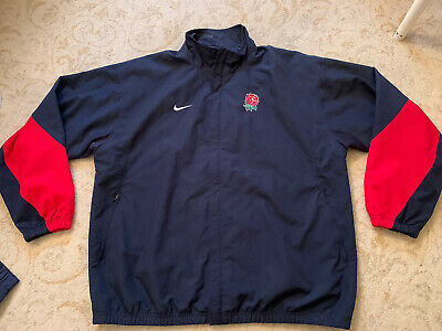 £20 • Buy England Rugby Player Issue Training Jacket Coat Size XL