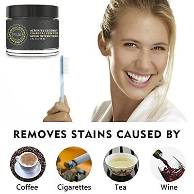 AU93.43 • Buy Activated Charcoal Teeth Whitening Powder Toothpaste Tubs, Job Lot Of 100 Units