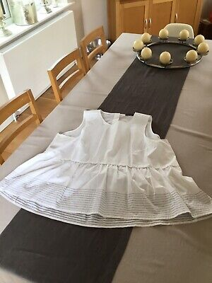 £7 • Buy Marks And Spencers Autograph White Top 100% Cotton - Size 20