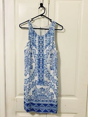 AU5.50 • Buy Forever New Shift Dress Sz 10. Lined.