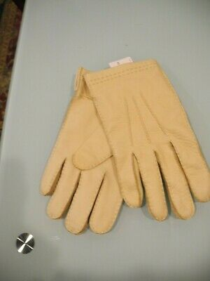 $29.99 • Buy Nwt Coach Men's Cashmere Lined Deerskin Gloves Tan Size Xl X-large New With Tags