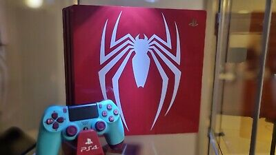 AU365 • Buy Ps4 Pro Limited Edition Spiderman Console