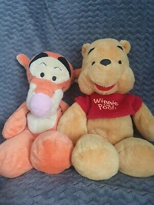 £2.50 • Buy Winnie The Poo And Tigger Beanie/soft Toy