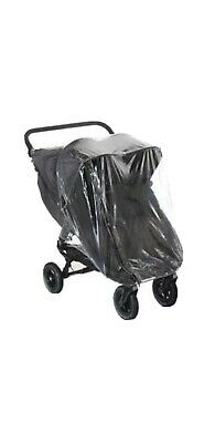 £15 • Buy Rain Cover To Fit Baby Jogger City Mini Gt Double Zip Access Quality Pvc Uk Mfd