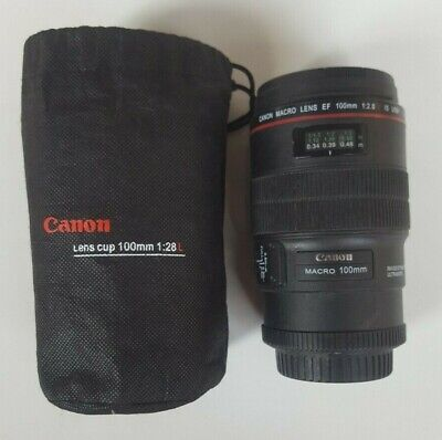 £8.99 • Buy Canon Macro 100mm - TRAVEL CUP MUG WITH LID IN TIE BAG - Looks Like Camera Lens