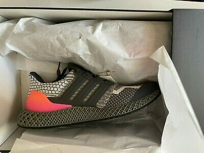 AU204.05 • Buy {G58161} Men's Adidas ULTRA 4D 5.0 Running Shoes   Grey Five   BRAND NEW