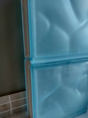 £12 • Buy Six Aqua / Pale Blue Glass Brick Blocks. Price Is For All Six. Collect HR8