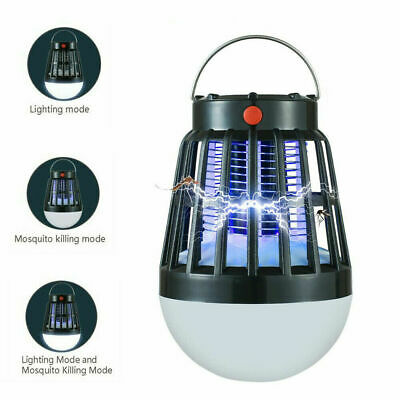 £18.99 • Buy Mosquito Zapper LED Lamp Camping Tent Outdoor Insect Bug Flying Killer Lights