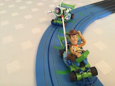 £24.99 • Buy Micro Scalextric Toy Story Cars. Woody & Buzz Lightyear. Excellent Condition