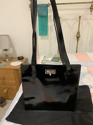 £120 • Buy Russell & Bromley Patent Leather Bag, Great Condition, PROCEEDS TO CHARITY